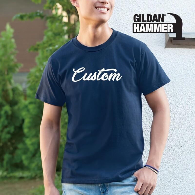 GILDAN HAMMER HA00 Adult T-Shirt  DTG Print