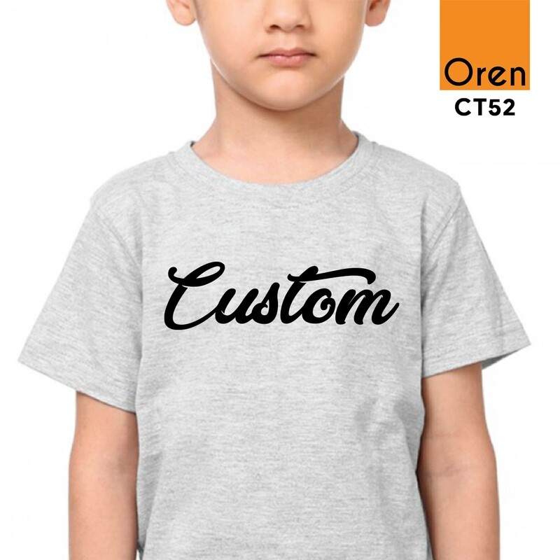 ORENSPORT CT52 Kids Comfy Cotton DTG Print