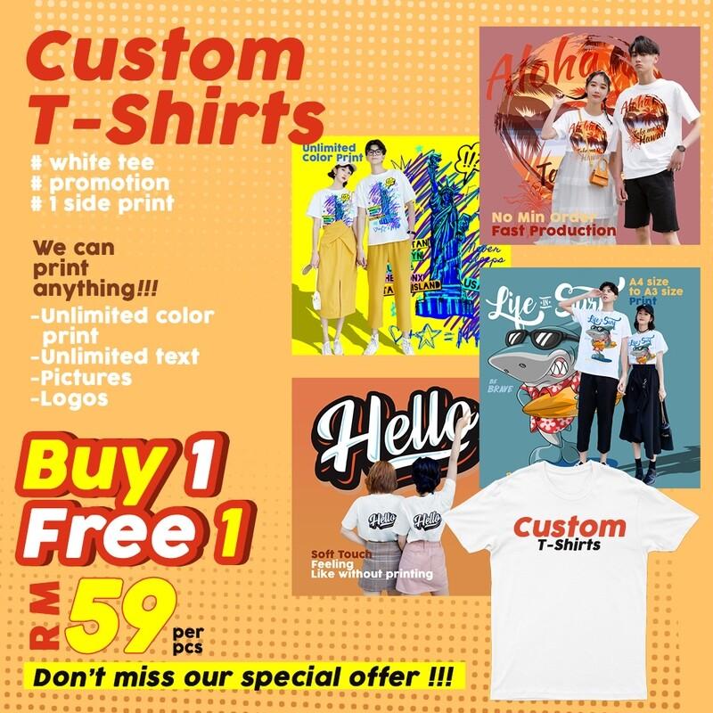Custom T-Shirt Buy1 Free1 Now !!!