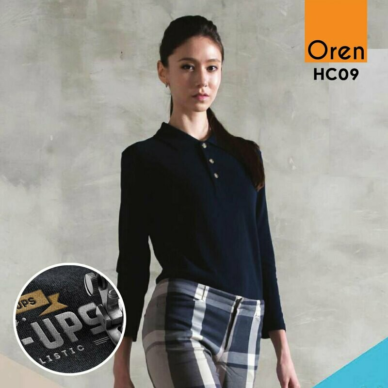 ORENSPORT HC09 Honeycomb Long Sleeve (Emb MIN ORDER 10)
