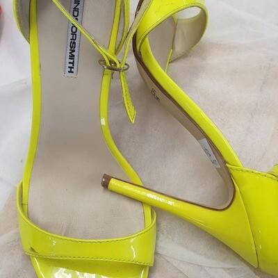 Windsor Smith Stiletto Lime /Yellow