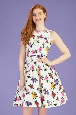 Tea Dress Gossamer Rose  Size 16