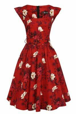 Swing Dress Wild Roses  Size 26/28