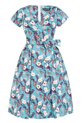 Cheryl Teal Butterfly Size 30/32