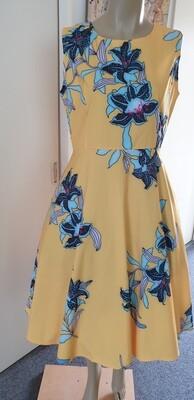 Blue Orchids Hepburn Style Size 14
