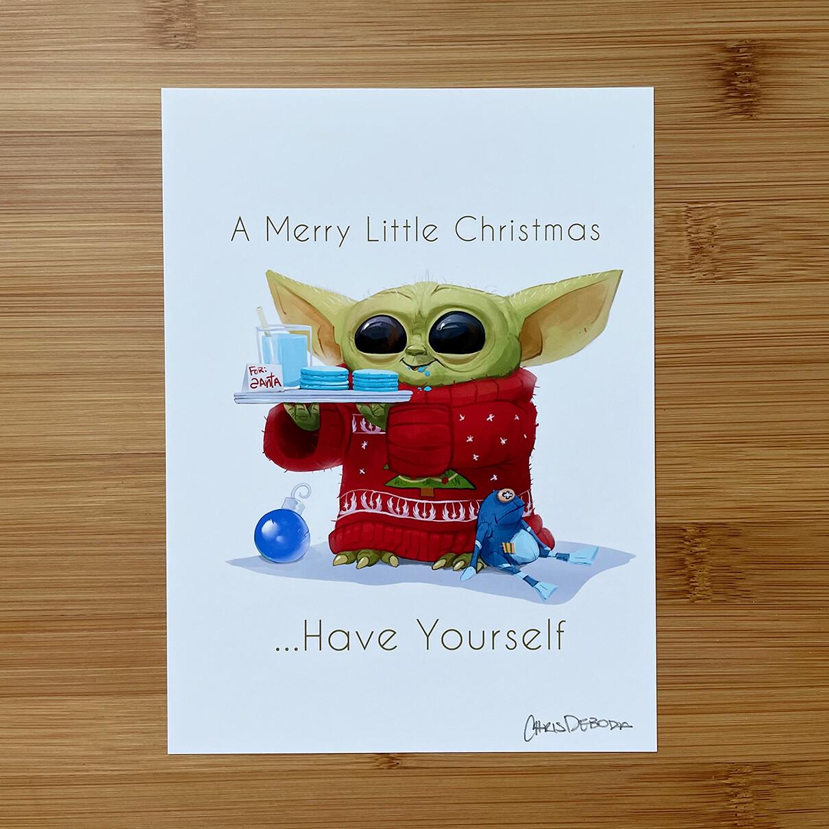 Holiday Greets Mini Print