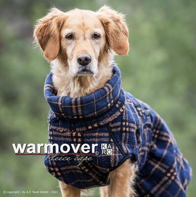 WARMOVER KARO FLEECE CAPE - Hundemantel