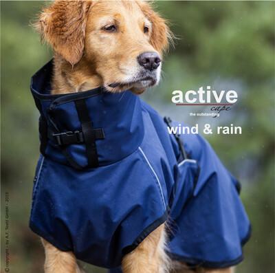 Hunderegenmantel - ACTIVE CAPE WIND & RAIN