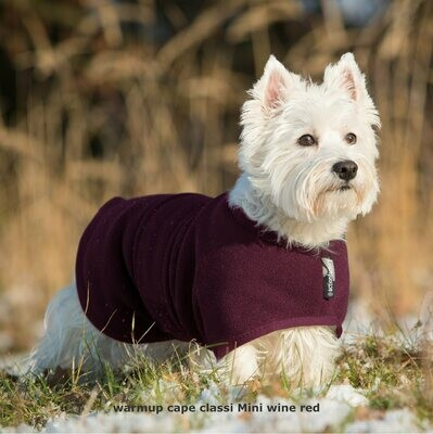 WARMUP cape CLASSIC Mini - Hundemantel zum Wenden