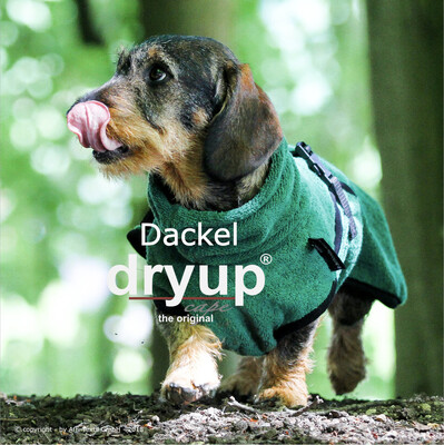 DryUP Cape Dackel - Hundebademantel