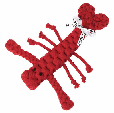 Laboni Toys Hundspielzeug Hugo Hummer - 17/25cm rot