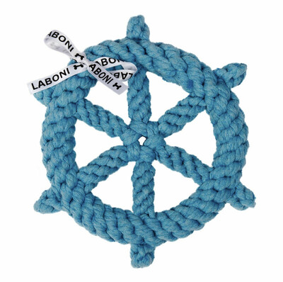 Laboni Toys Hundspielzeug Skipper - 20cm hellblau