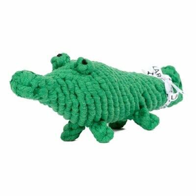 LABONI Toys -Hundespielzeug Kalli Krokodil- 31cm grün
