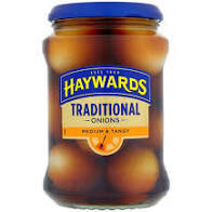 Haywards Traditional Onions 400g
