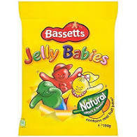 MB Jelly Babies 190g