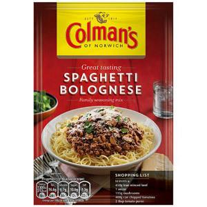 Colmans Spaghetti Bolognese Mix 44g