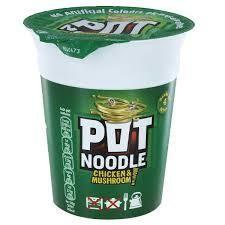 Pot Noodle Chicken & Mushroom 90g