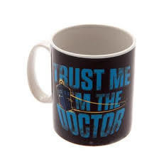 Dr Who Official Trust Me Mug