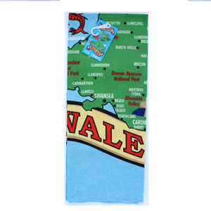 Tea Towel Wales