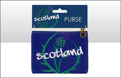 Scotland Thistle Coin Purse