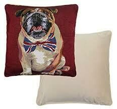 Bulldog Winston Cushion