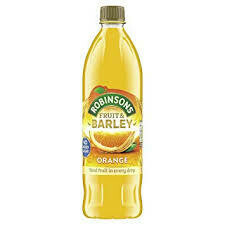 Robinson's Orange Real Fruit & Barley NAS 1l