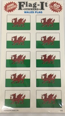 Flag It Stickers Wales