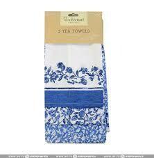 Cooksmart 3 Tea Towels Secret Garden