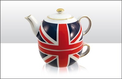 Union Jack Tea For One