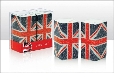 Union Jack Cruet Set