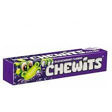 Blackcurrant Chewits 30g