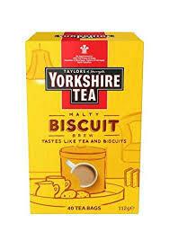 Yorkshire Tea Biscuit Brew 40 Bags 112g