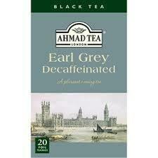 Ahmad Tea Earl Grey Decaf 20's