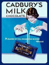Cadbury Vintage Magnet