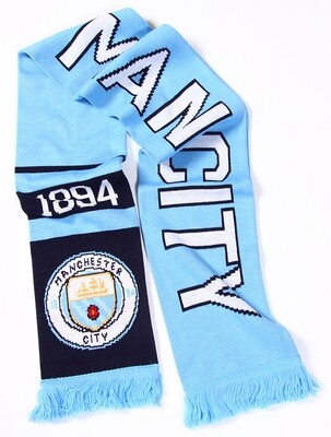 Official Merchandise Manchester City Scarf
