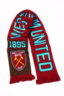 Official Merchandise West Ham United Scarf