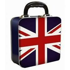 Union Jack Tin Lunch Box