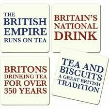Coaster Set Britain's National Drink
