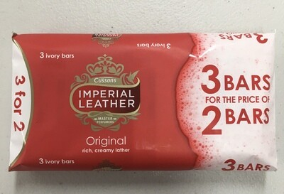 Imperial Leather Soap Original 3pk 300g
