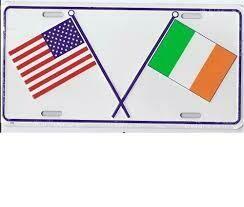 USA/Ireland  License Plate