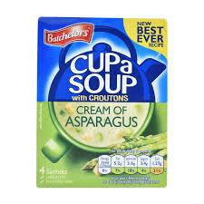 Batchelors Cup A Soup Asparagus 4pk