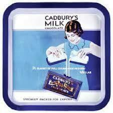 Metal Serving Tray Cadbury's Dairy Milk