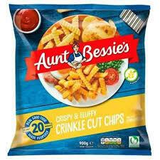 Aunt Bessies Crispy & Fluffy Crinkle Chips 900g