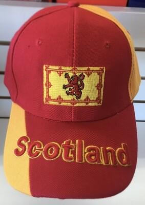 Scotland Cap Red Lion Rampant