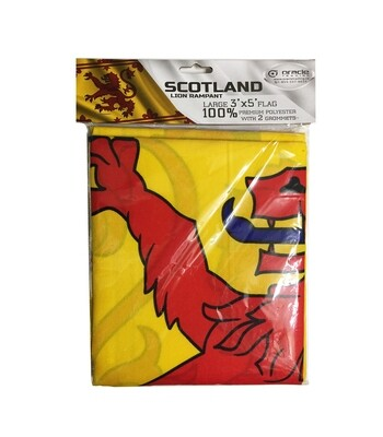 Scotland Lion Rampant Flag 3' x 5'