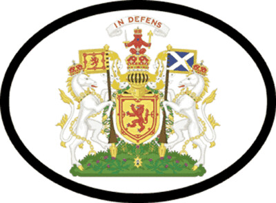 Decal 1954 Coat Of Arms Scotland