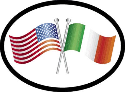 Decal 1342 Ireland Friendship Oval