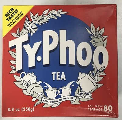 Typhoo 80 Teabags Wee Dented Special Price
