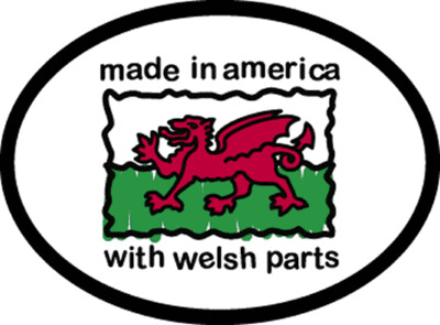 3295 Welsh Parts Decal