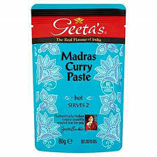Geeta's Madras Curry Paste 80g